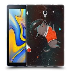 Official Oilikki Belka Animal Characters Soft Gel Case Compatible for Samsung Galaxy Tab A 10.5 2018