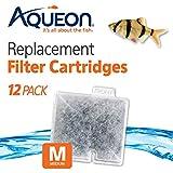 Aqueon QuietFlow Filter Cartridge, Medium, 12-Pack