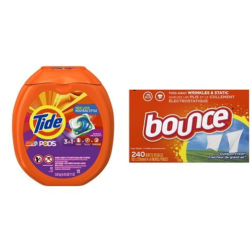 Detergent Pods With Fabric Softener