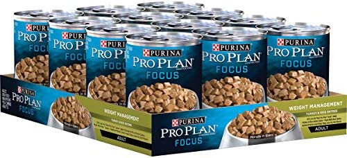 Purina Pro Plan Weight Management Adult Dry Dog Food & Wet Dog Food (Packaging May Vary) 2
