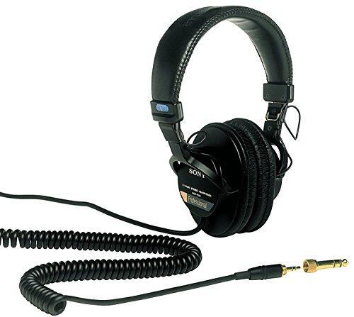 Sony MDR7506 Professional Large Diaphragm Headphone (International Model) No Warranty