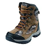 Northside Boys' Renegade 400 Hiking Boot, Tan Camo, Size 5 Medium US Big Kid