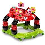 Delta Children Lil' Play Station 3-in-1 Activity Walker, Sadie the Ladybug