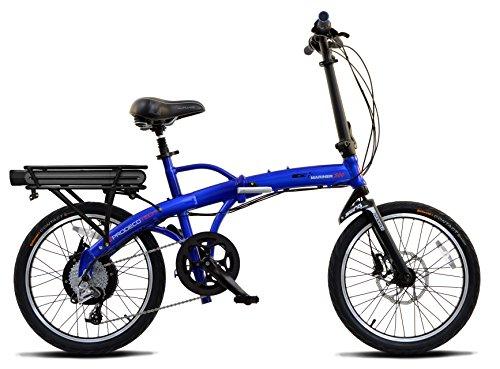 "ProdecoTech Mariner 500 v5F 36V500W 9 Speed Electric Bicycle 11Ah Samsung Li ion, Royal Blue, 17""/One Size"