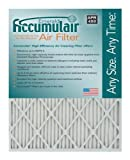 Accumulair Emerald 24x25x4 (Actual Size) MERV 6 Air Filter/Furnace Filters (4 pack)