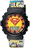 DC Comics Girl's Quartz Plastic Casual WatchMulti Color (Model: SUP4081)