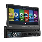 Soundstream VRN-74HB 1-DIN GPS/DVD/CD/MP3/AM/FM Receiver with 7' LCD/Bluetooth/MobileLink X2