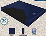 Product review for Free Flow Fluid Chamber Series 100 Mid Fill Softside Waterbed Bladder by Innomax Queen