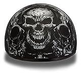 D.O.T. Daytona Skull Cap- W/Guns- Daytona Helmets