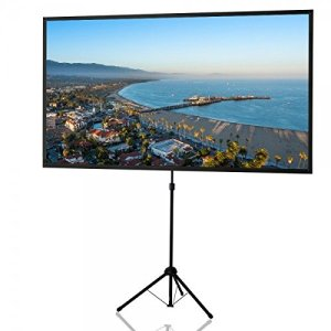 celexon Projector Screen Tripod Ultra Lightweight 80 inch   Ultra Portable   11 lbs weight   Mobile presentation and cinema solution