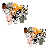 24 PC Animal Finger Puppets
