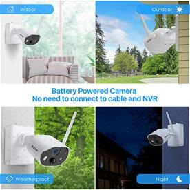 ZOSI-C306-1080P-Rechargeable-Battery-Powered-Wire-Free-Camera-Indoor-Outdoor80ft-Night-Vision2-Way-Audio-Human-DetectionMotion-Alert-Smart-LightSound-Alarm-CloudSD-Card-StorageNo-SD-Card