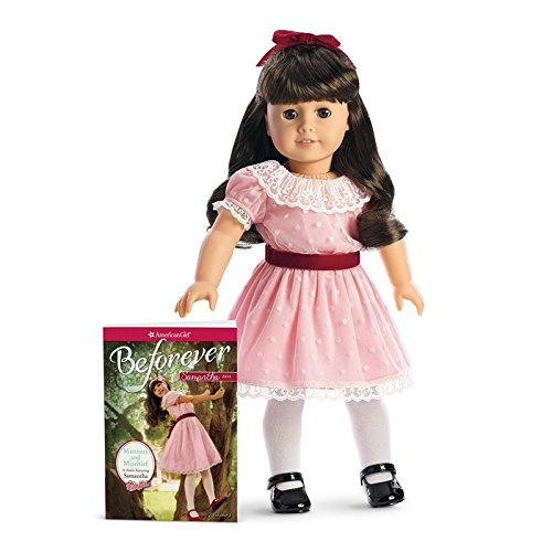 American Girl - Beforever Samantha Doll & Paperback Book