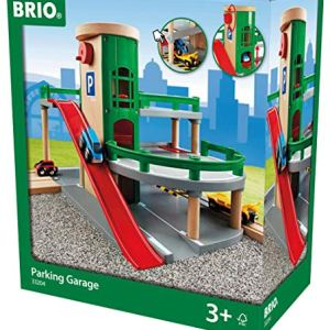 BRIO World – 33204 Parking Garage | Railway Accessory with Toy Cars for Kids Age 3 and Up 51eB33LJB 2BL