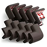 Corner Guards, Eoney Super Soft Baby Proofing Corner Protector Edge Protectors with 3M Tape for Furniture to Keep Kids Safe Corner Cushion