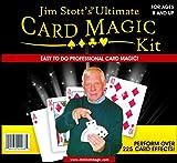 Jim Stott's 'Ultimate Card Magic Kit, Magic Tricks Set for Adults, Svengali Card Deck, Phantom Marked Deck, The Wizard Stripper Deck, Vanishing Card Case, The Magic Card Box, and More