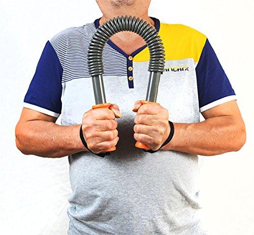 iHuniu Power Twister Bar Arm Strengthening, Arm Exerciser (40 KG (Beginning))