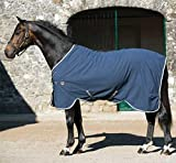 Product review for Rambo Grand Prix Helix Stable Sheet 84 Navy/Beige