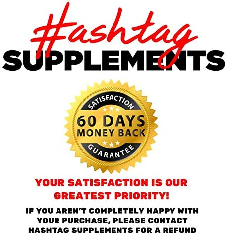 7 Keto Diet Pills - Weight Management Metabolism Booster - Natural Fat Loss | Maximize Results of a Proper Diet and Exercise - 30 Day Supply (60 Capsules) - Hashtag Supplements 10