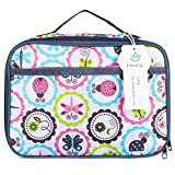 Kids Lunch box Insulated Soft Bag Mini Cooler Back to School Thermal Meal Tote Kit for Girls, Boys by FlowFly,Cartoon