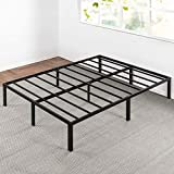 Best Price Mattress King Bed Frame - 14 Inch Metal Platform Beds w/ Heavy Duty Steel Slat Mattress Foundation (No Box Spring Needed), King Size, Black