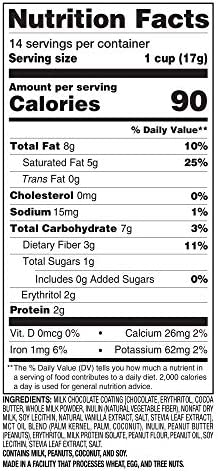 SlimFast Diabetic Weight Loss Snack, Peanut Butter Cup (14 Count of 0.6 Oz Cups Each), 8.4 Oz 6