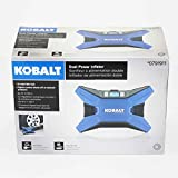 Kobalt 120v & 12v Portable Air Compressor Inflator Tire Pump Nozzle Needles 120 PSI LED Display