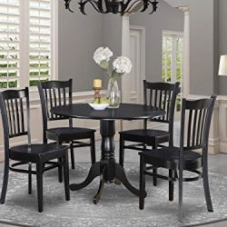 5 Pc Kitchen Table set-Table and 4 Kitchen Chairs