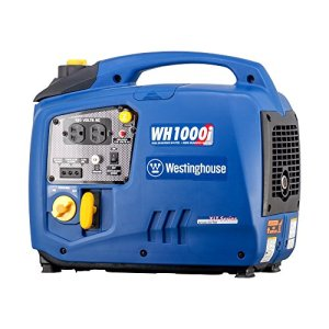 Westinghouse WH1000i Portable Inverter Generator – 1000 Running Watts and 1100 Starting Watts – Gas Powered
