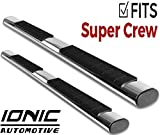 Ionic Voyager Plus Stainless Running Boards (Fits) 2009-2014 Ford F150 SuperCrew