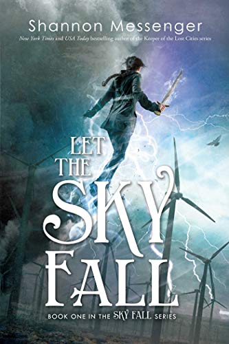 book cover windmills electricity magic fantasy let the sky fall