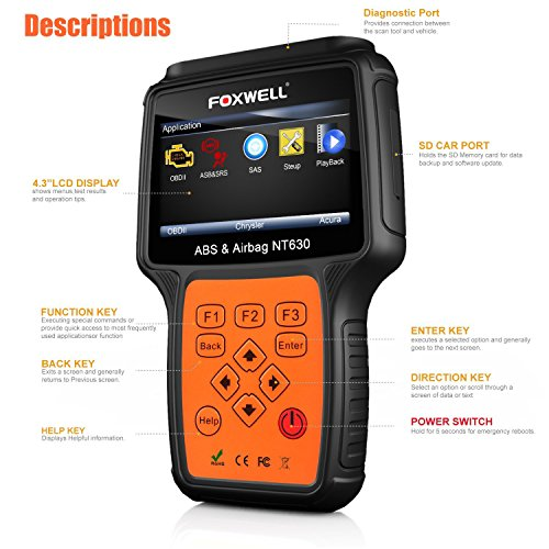 Foxwell NT630 scan tool