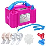 Growsun Balloons Pump Kit Electric Balloon Air Pump Blower Inflator for Party with Extra Accessories