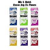 Cotton Candy Sugar Floss Mix Flavors, Case of 6-1/2 Gallon Cartons