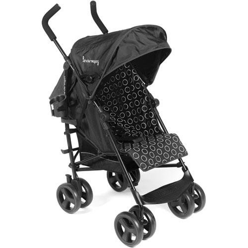 Kinderwagon - Skip Umbrella Stroller - Black