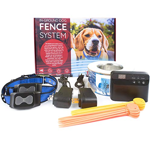 Redhound Inground Dog Perimeter Fence