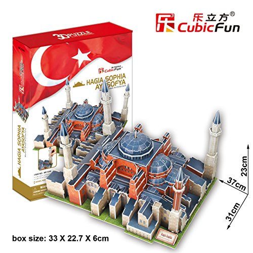 CubicFun 3D Puzzle MC-Series The Hagias...