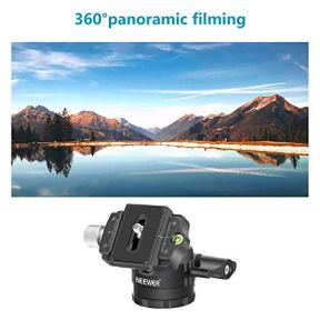 Neewer-Low-Profile-Ball-Head-360-Degree-Rotatable-Tripod-Head-for-DSLR-Cameras-Tripods-Monopods
