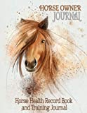 Product review for Horse Health Record Book & Horse Training Journal: Horse Owner Journal - Valuable Addition to Your Collection of Horse Training Books and Horse Care Essentials (8.5 x 11 Inches / Grey)