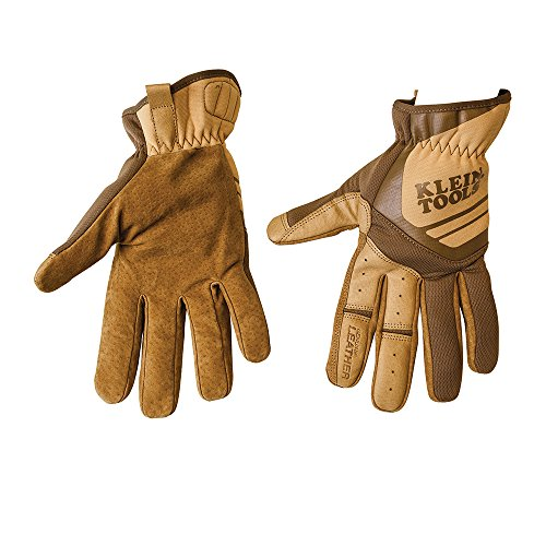 Journeyman Leather Utility Gloves, Large Klein Tools 40227