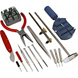 SE 16-Piece Watch Repair Tool Kit