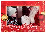 StarPack Christmas Holiday Greetings Cards/Photo Frame Cards Set (20-Pack)