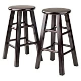 Product review for Winsome Counter Stool with Square Legs, 24-Inch, Espresso, Set of 2