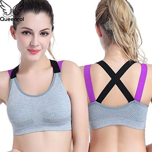 H. M. Enterprises women's padded full coverage quick dry padded shockproof cross back sports bra with removable soft cups for gym,yoga,running and fitness grey | latest news live | find the all top headlines, breaking news for free online april 4, 2021
