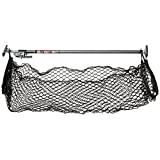 Keeper 05060 Ratcheting Cargo Bar with Storage Net