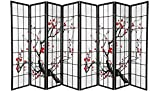 Product review for Screen 8 Panel Black Plum Blossom Design Room Divider (8-Panel)