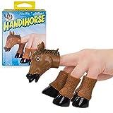 Handihorse Horse Finger Puppet Animal Accessory Brown Funny Head Legs
