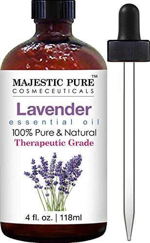Majestic Pure Lavender Oil, Therapeutic Grade, 4 fl. Oz