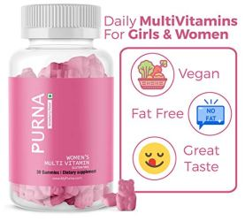 Purna-Multivitamin-Strawberry-Gummies-for-Women-Vitamins-A-C-D-E-B12-and-8-Minerals-30-Gummy-Bears-one-per-day-Pack-of-3