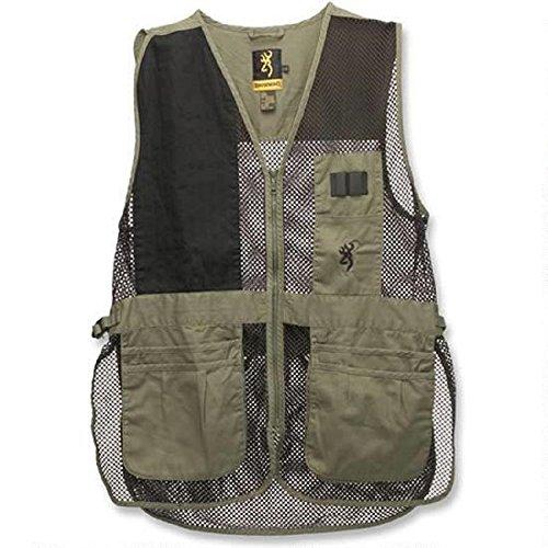 Browning, Trapper Creek Vest, XXX-Large, Sage/Black